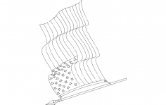 American-flag dxf File