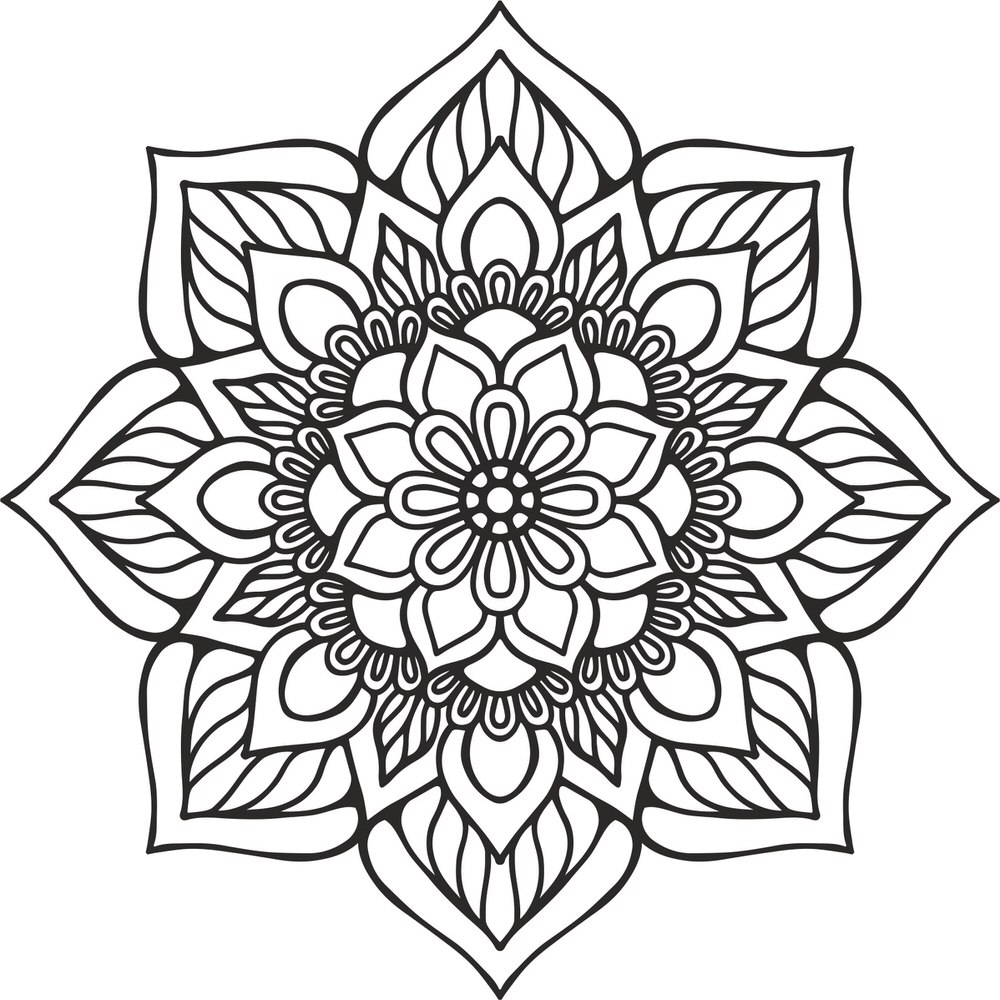 Mandala Indian Free Vector