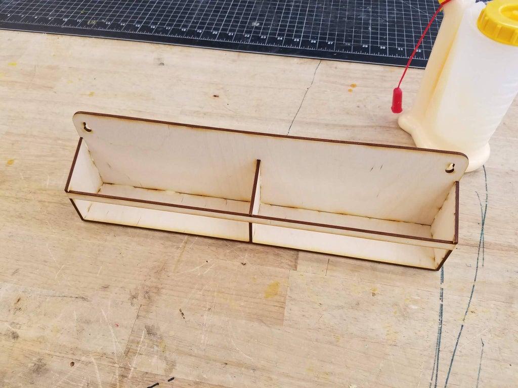 Laser Cut Wall Mount Spice Rack Floating Shelf For Kitchen PDF File