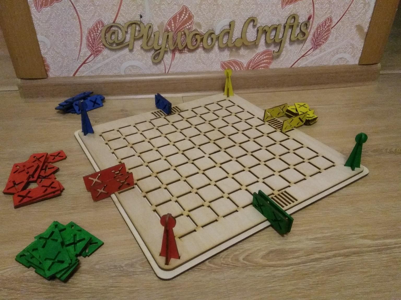 Laser Cut Kimitatsu Meiro Maze Game Free Vector