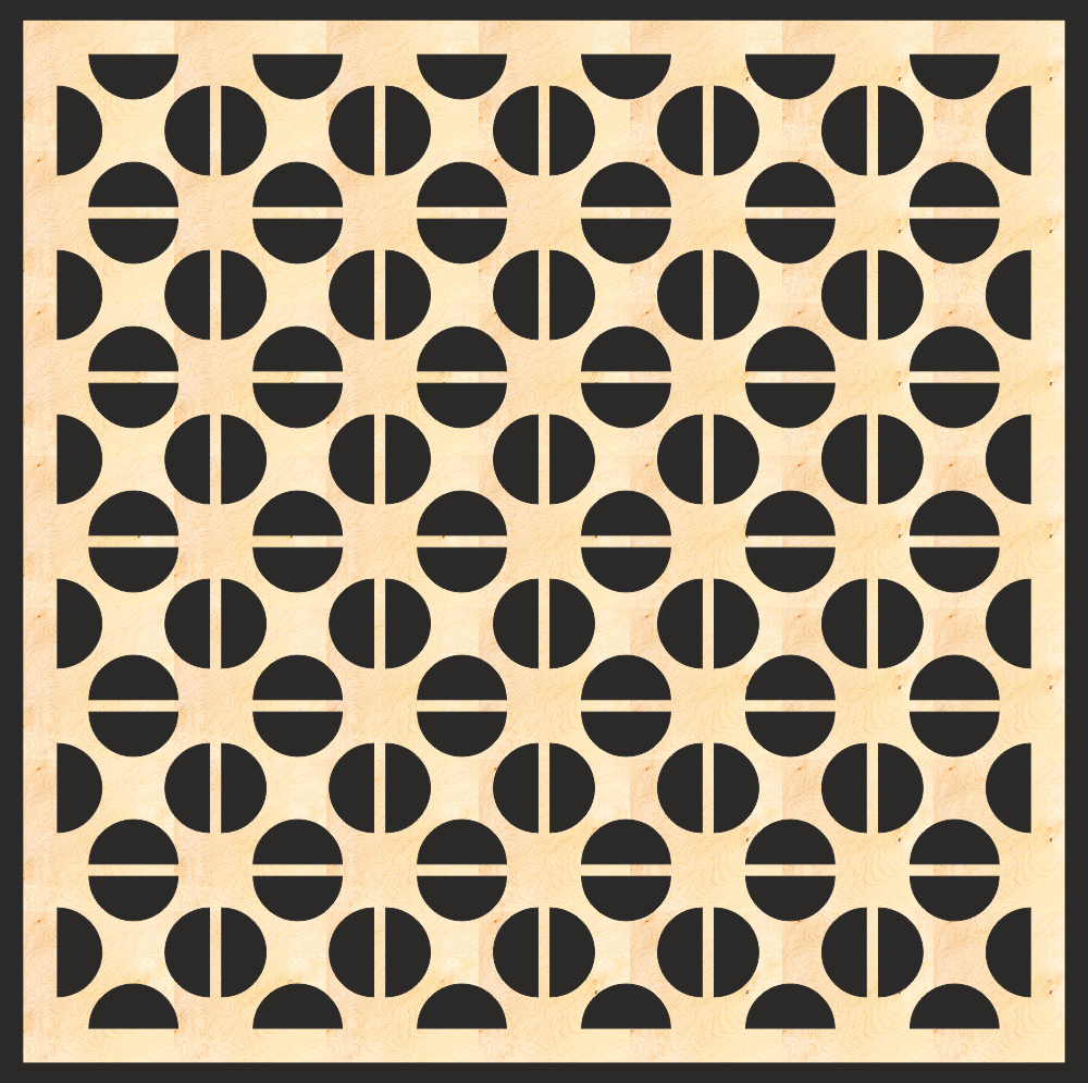 Decorative MDF Screen Pattern Free Vector
