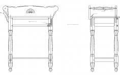 Washstand dxf file