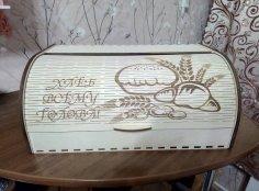 Laser Cut Bread Basket DWG File