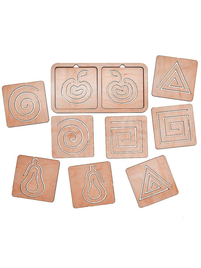 Laser Cut Puzzle Template Free Vector
