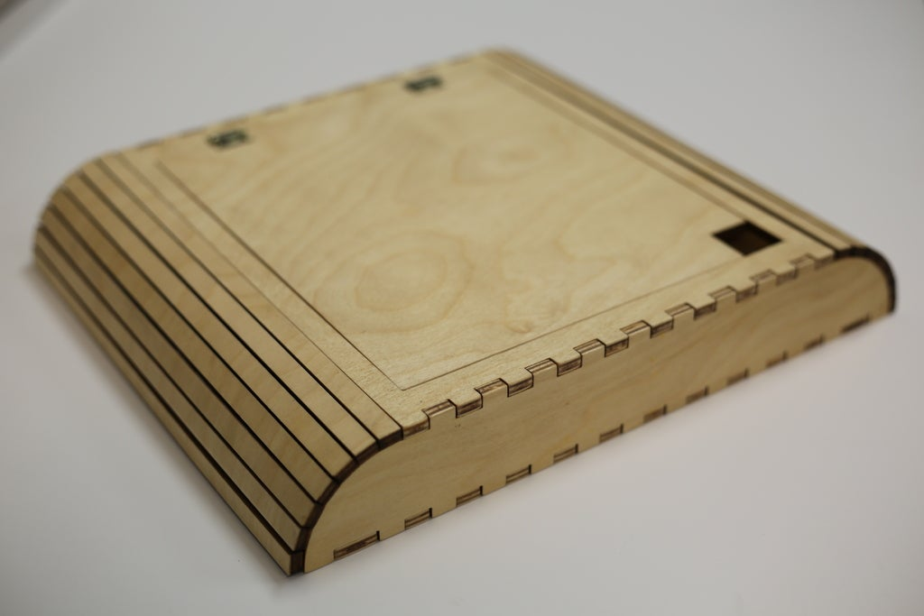 Laser Cut Storage Box For Students Free Vector