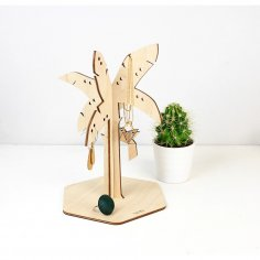 Laser Cut Jewelry Stand Jewelry Display Free Vector