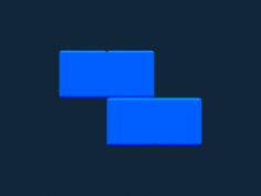 Tetris block Z stl file