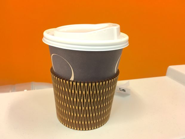 Lasercut Cup Holder PDF File