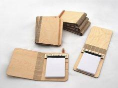 Laser Cut Folding Booklet DXF File