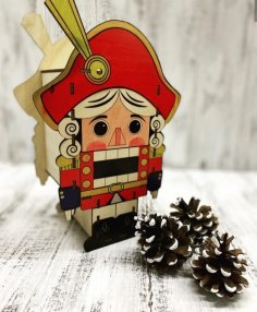 Laser Cut The Nutcracker Щелкунчик Free Vector