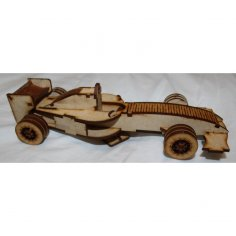 Formula One Car Laser Cut 3mm EPS File