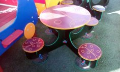 CNC Router Laser Cut Coffee Table DXF File