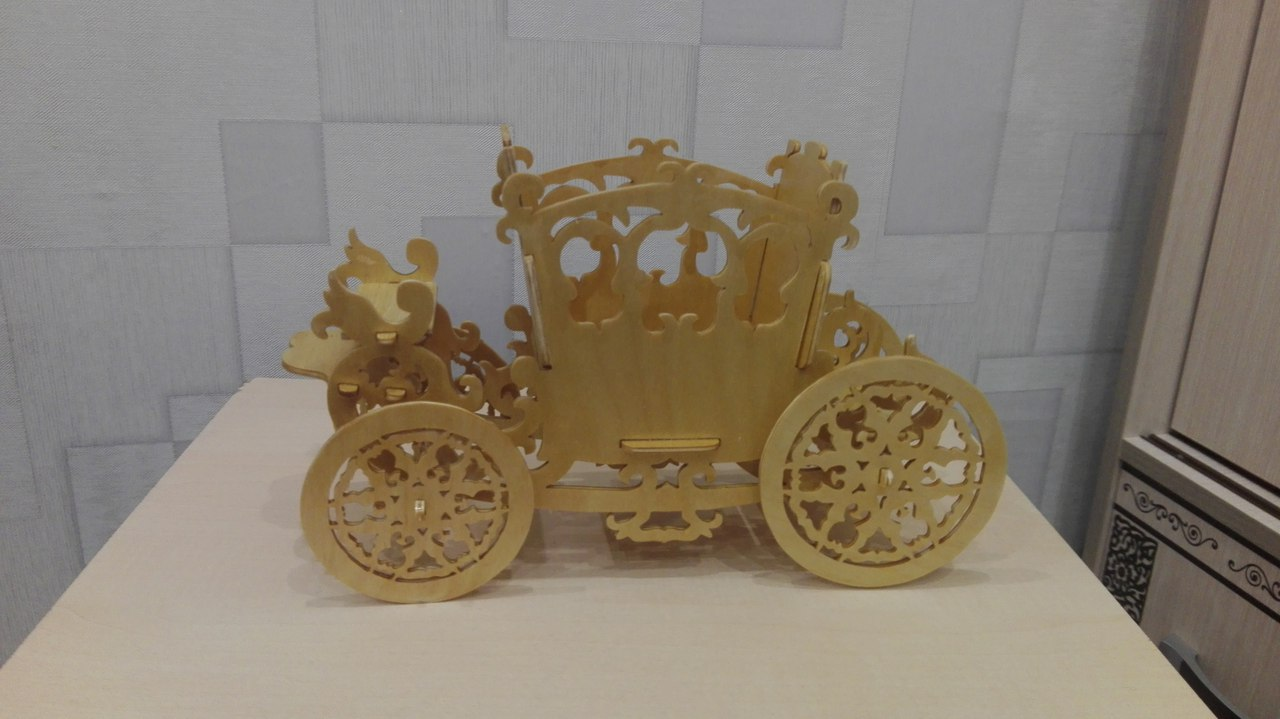 Carriage Planter Candy Holder PDF File