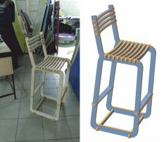 Laser Cutting Windsor Chair Free Vector