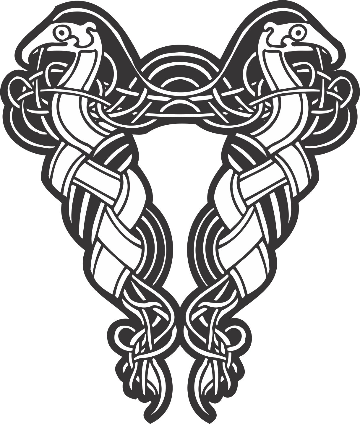 Celtic Ornament Pattern Free Vector