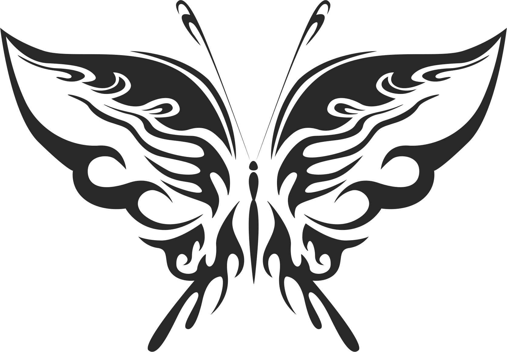 Butterfly Vector Art 019 Free Vector