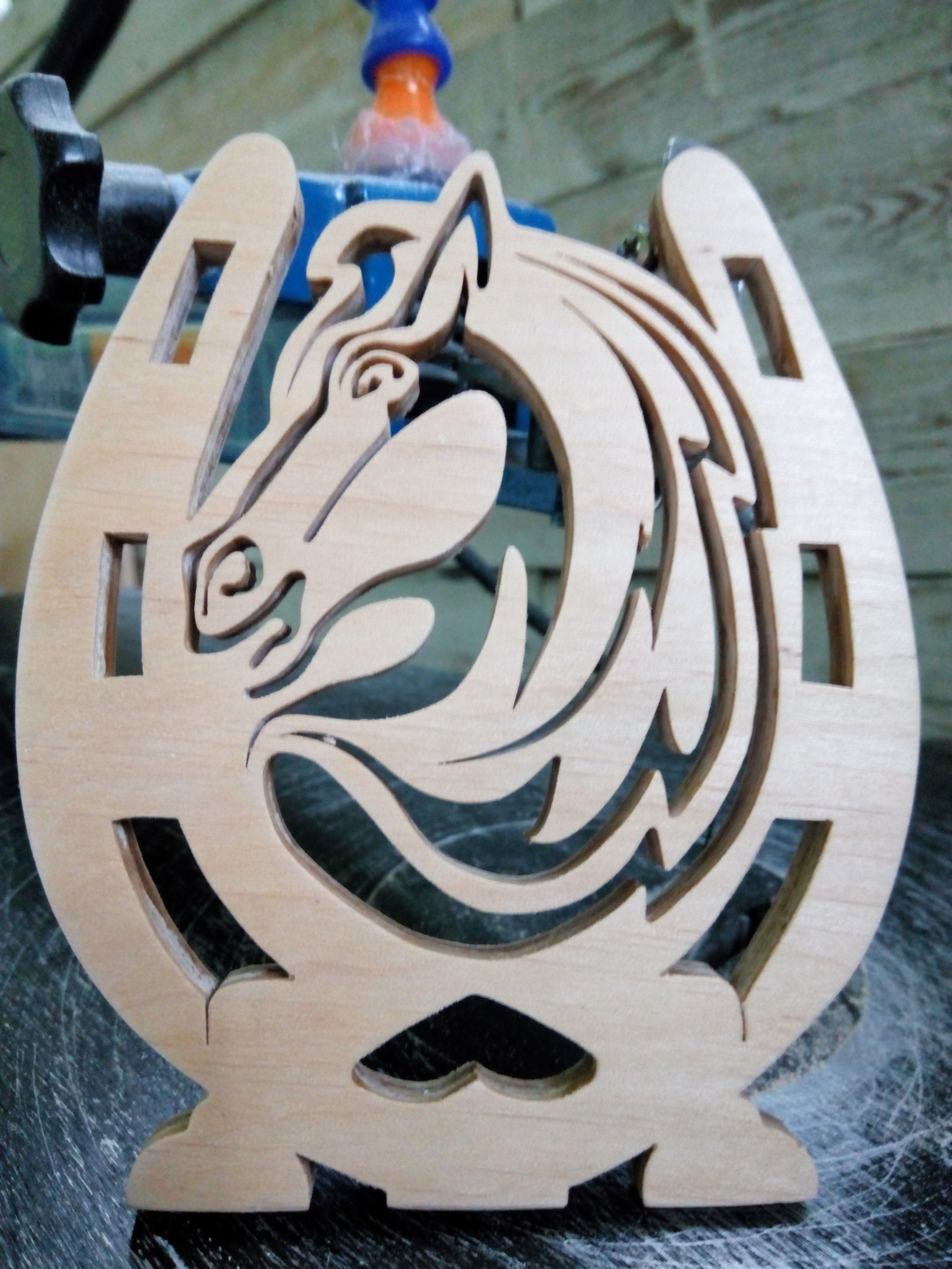Plywood Horse Shoe Horse Shape  PDF File