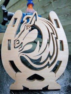 Plywood Horse Shoe Horse Shape  PDF File