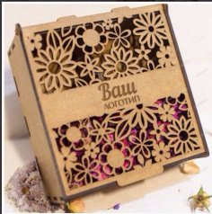 Decorative Box Laser Cutting Free Vector