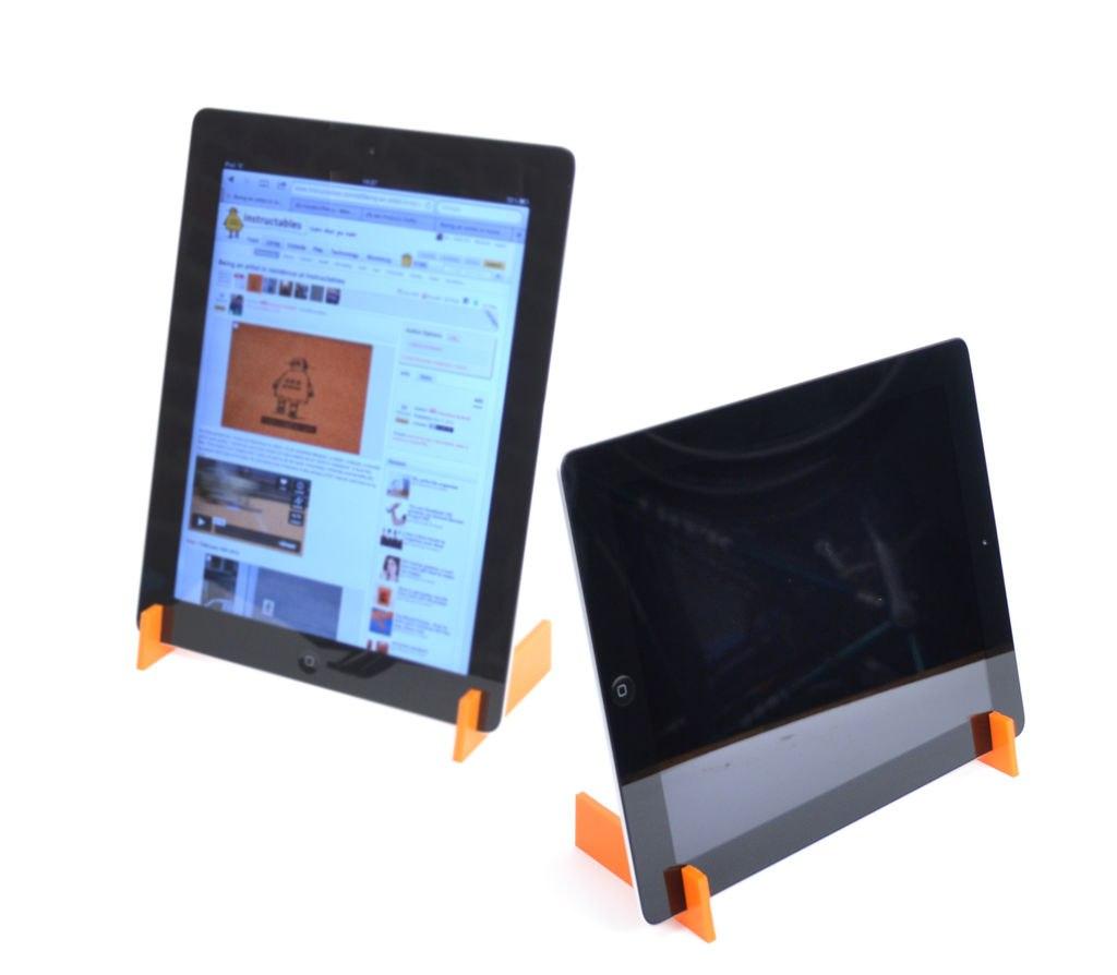 Laser Cut iPad Stand