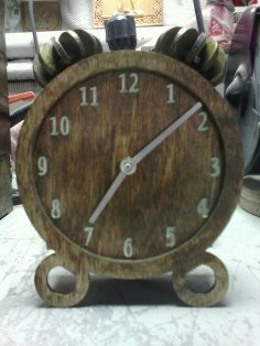 Clock 3D dxf File