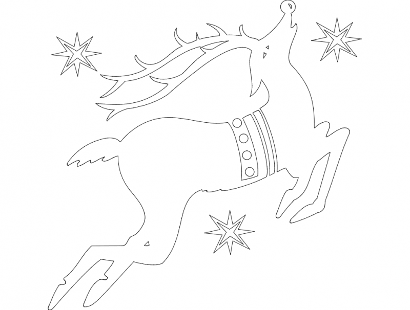 Holiday Attraction 22 dxf File