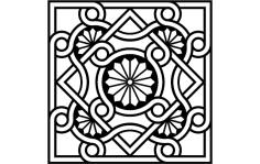 Byzantine Ornament  dxf File