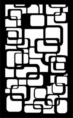 Wall Separator Pattern 57 dxf File