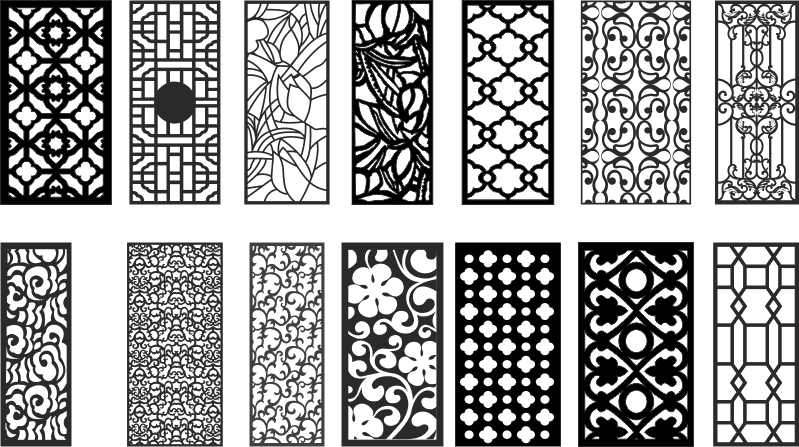 CNC router plasma file Collection Free Vector