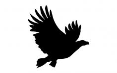 American Eagle Flyin dxf File