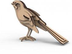 Sparrow 3D Puzzle