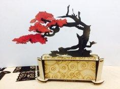 Bonsai Decorative 3D Puzzle Laser Cut