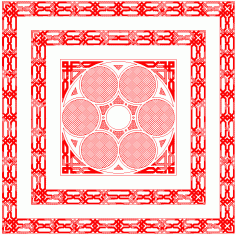Border Pattern DWG File