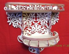 Decorative Shelf Laser Cut CNC Plans PDF File