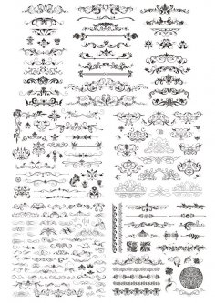 Decor Elements Free Vector