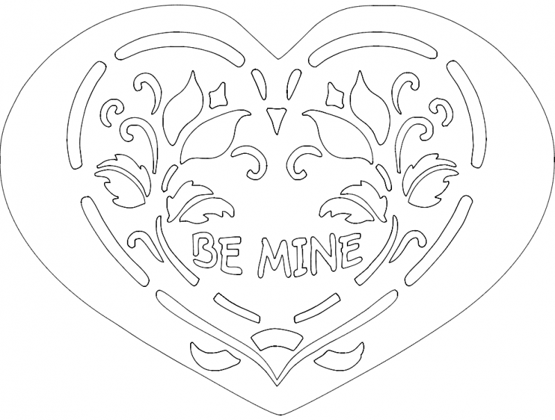 Be Mine dxf File