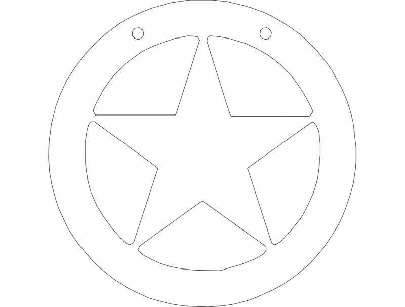 Star 1 dxf File
