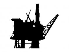 Oil Rig dxf File
