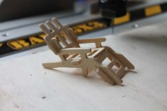 Lawnchair Assembly DXF File