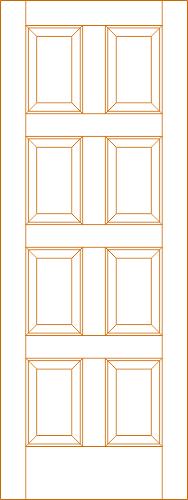 Exterior Door DWG File