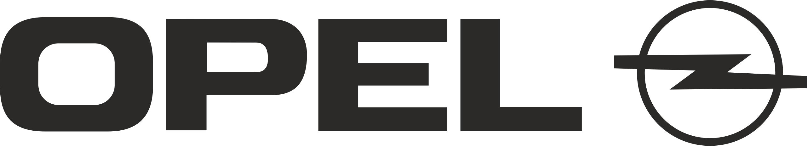 Opel Logo Vector CDR File