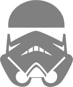 Stormtrooper Star Wars Sticker Free Vector