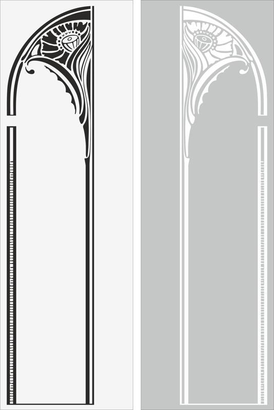 Arch Sandblast Pattern Free Vector