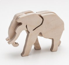 Elephant Laser Cut DXF File