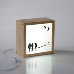Light Box Swallows CDR File
