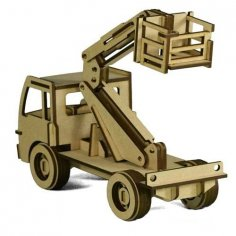 Cherry Picker 4 75mm dxf File