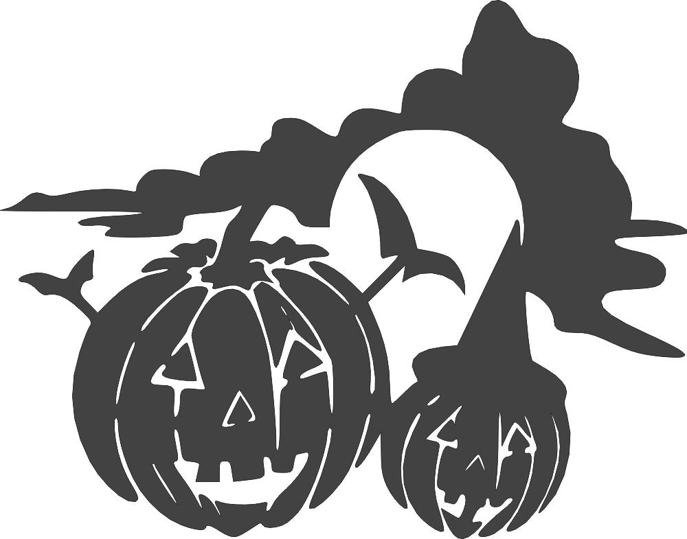 Halloween holiday jackolantern DXF File