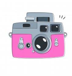 Camera Abstract Vector
