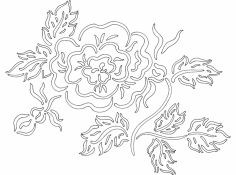 Flower 2 dxf File