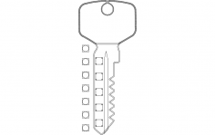 Key Rack dxf File